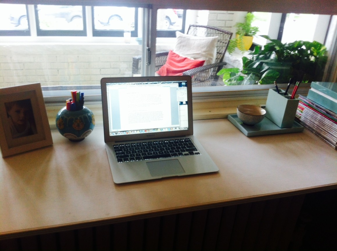 Working from home office