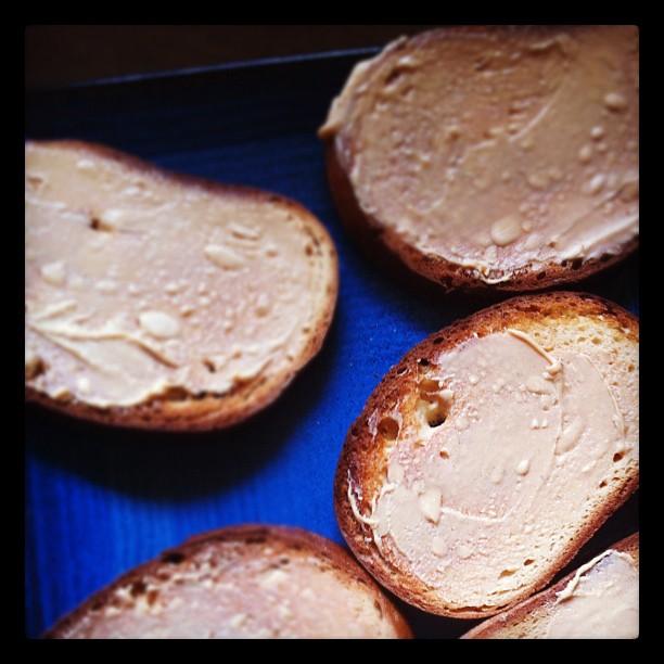 Stephen Dann peanut butter toast