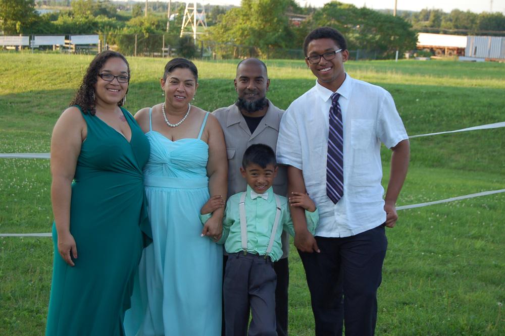 1000 families project: Shanthi, Derek, D'nea, Jaylen and Milesj