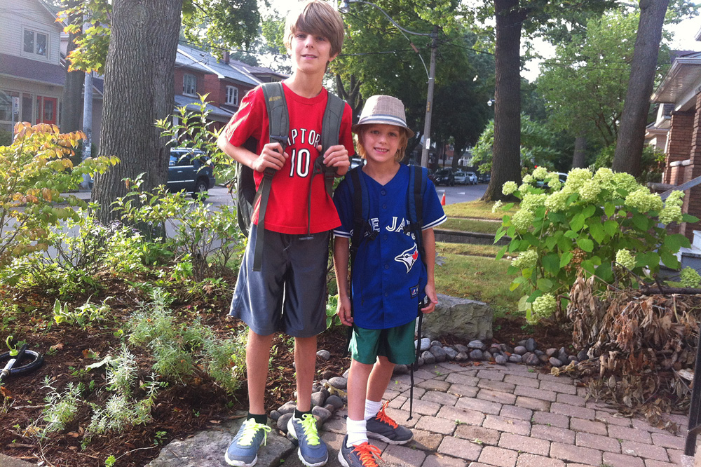 the back to school advice that really matters first day of school photo