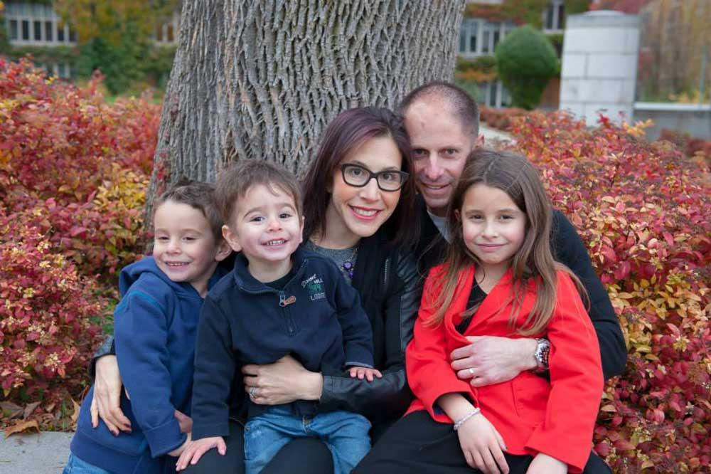 1000 families project heidi matthew and kids