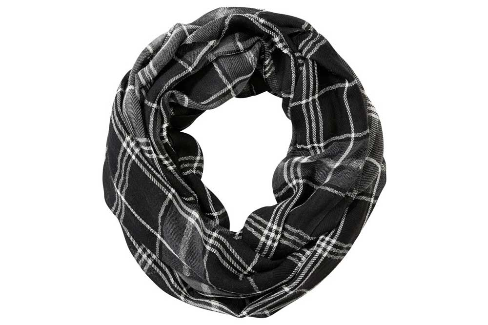 awkward relationships gift guide buffalo plaid infinity scarf