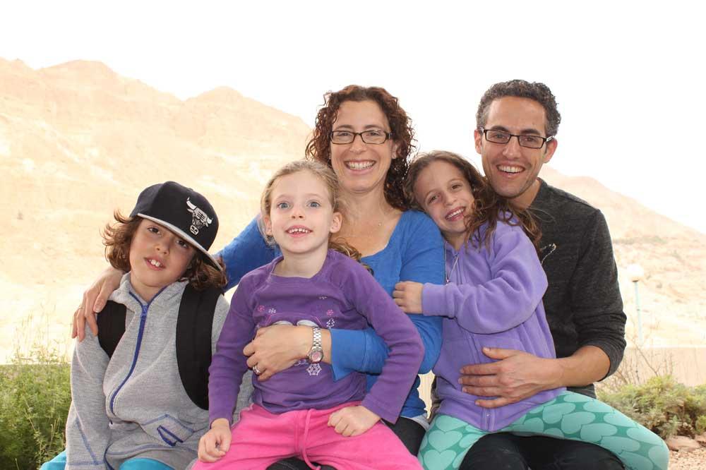 1000 families project dana tal noam orly and adi