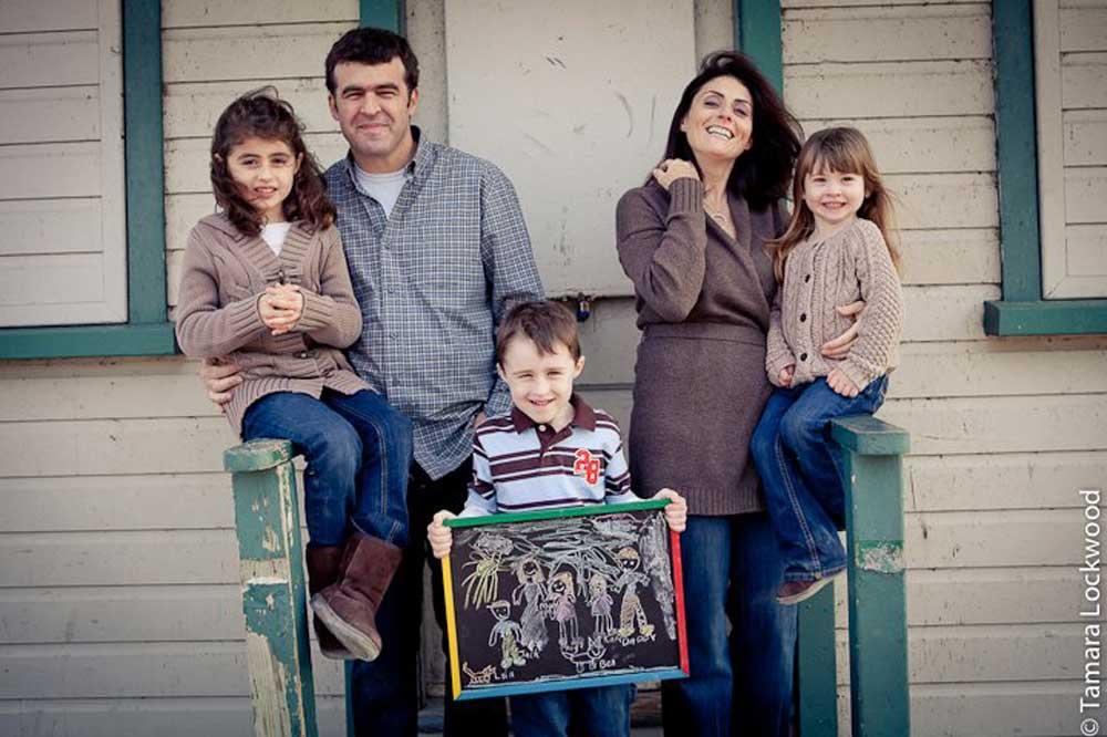1000 families prject pat jenn paige jack and kate