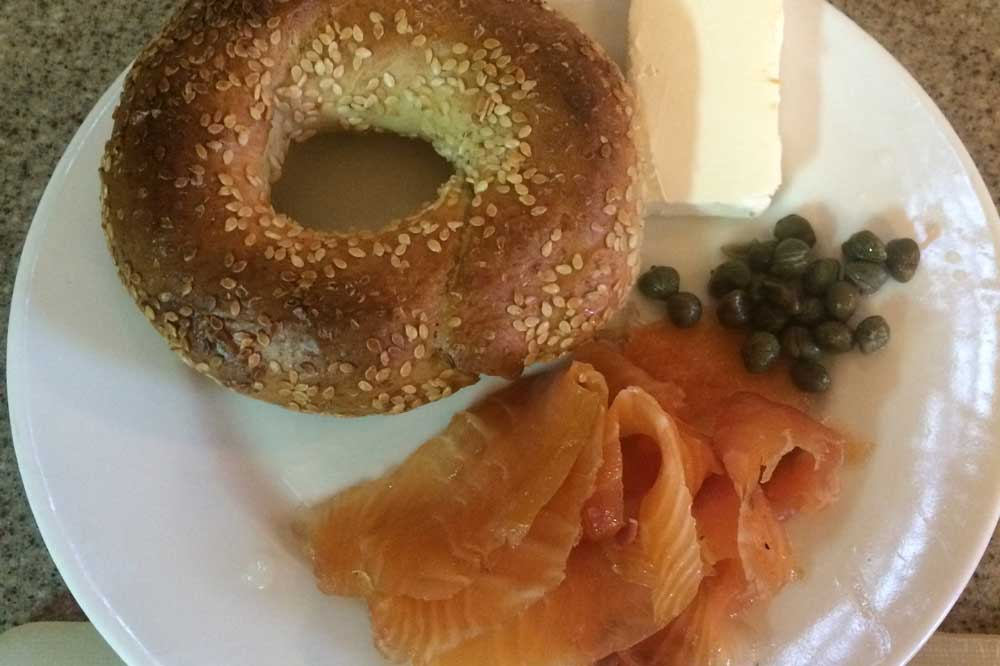 easy gravlax salmon for the holidays plated