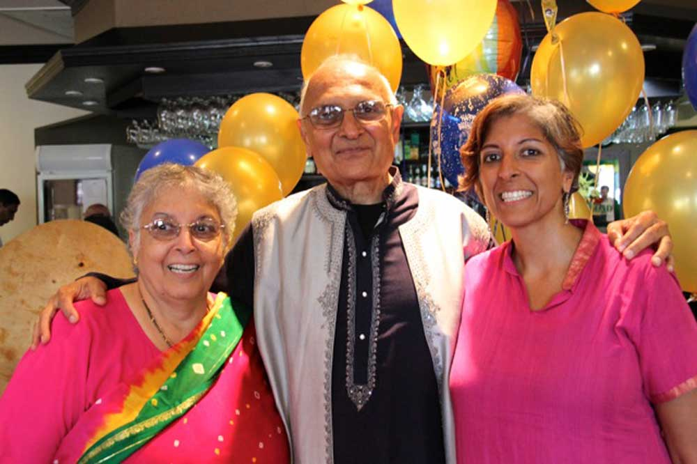 1000 families project jyotish, sheila and daughter