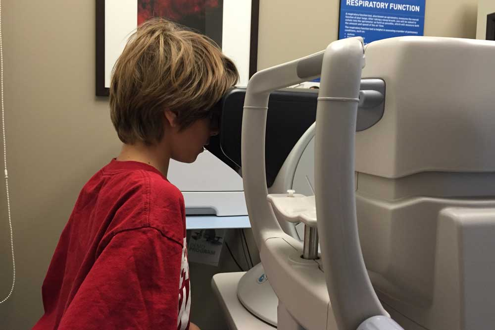 stuff I wish I coud change about healthcare for kids eye test