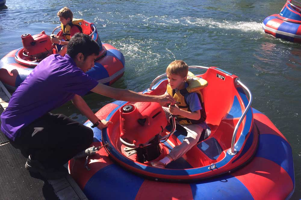 How to maximize your fun at Centreville Bumper Boats