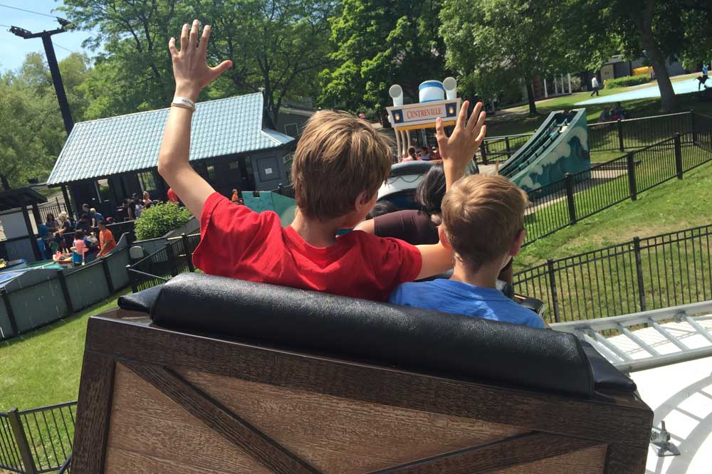 How to maximize your fun at Centreville Mine Coaster