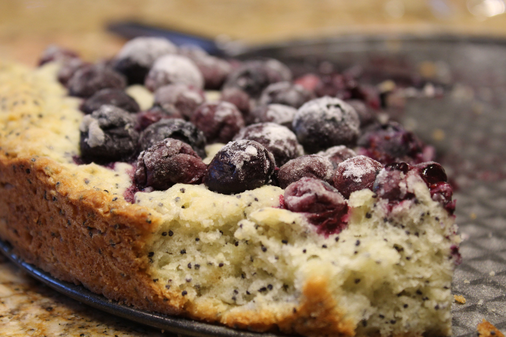 blueberry poppy seed cake