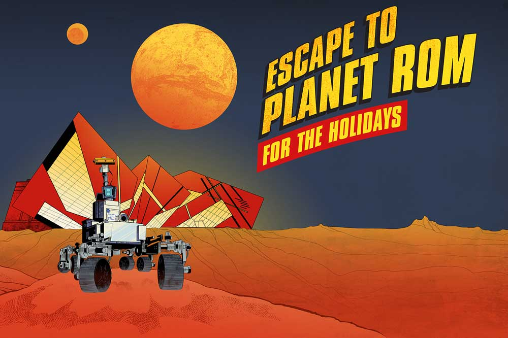 Keep the Kids Entertained with a Trip to Outer Space this Holiday