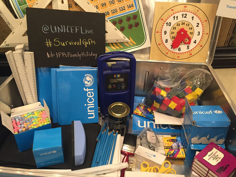 Unicef Survival Gift: School in a Box
