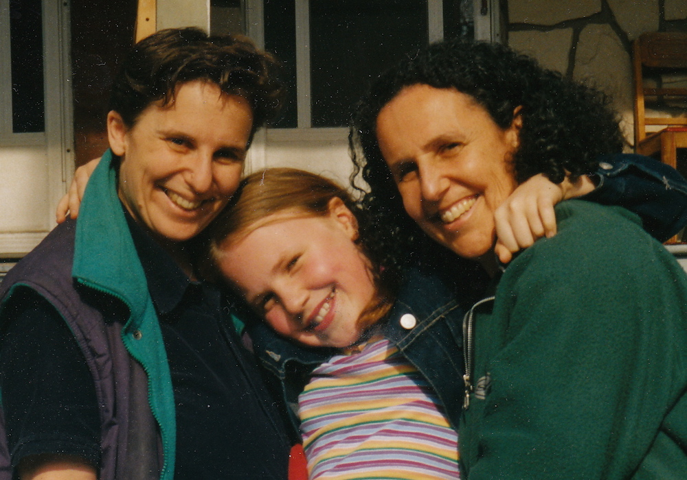 Growing up with Same-Sex Parents and 'Poster-Child Syndrome' Sadie Epstein-Fine and her two moms